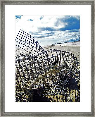 Washed Up Framed Print by Alison Tomich