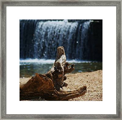 Washed Up Framed Print