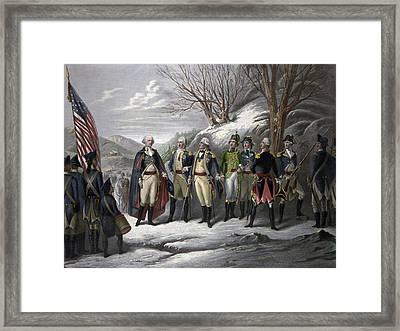 Washington & Generals Framed Print by Granger