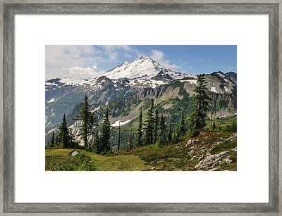 Washington, Cascade Mountains Framed Print