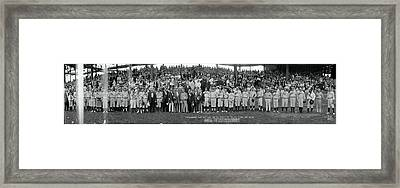 Washington Congressional Baseball Game Framed Print by Fred Schutz Collection
