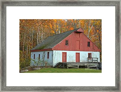 Washington Crossing Thompson-neely Grist Mill Framed Print