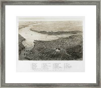 Washington, D.c., 1862 Framed Print by Granger