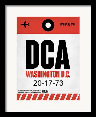 D.c Framed Prints
