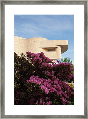 Washington Dc, American Indian Museum Framed Print by Lee Foster