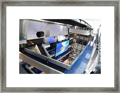 Washington Dc - Newseum - 12125 Framed Print by DC Photographer