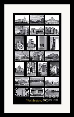 Law Enforcement Art Framed Prints