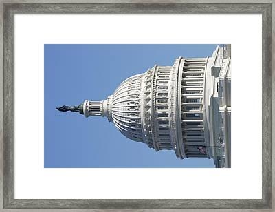 Washington Dc - Us Capitol - 011310 Framed Print