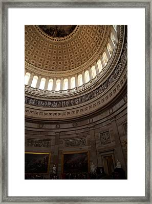 Washington Dc - Us Capitol - 011311 Framed Print by DC Photographer