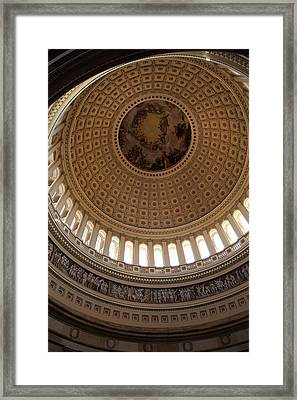 Washington Dc - Us Capitol - 011314 Framed Print by DC Photographer