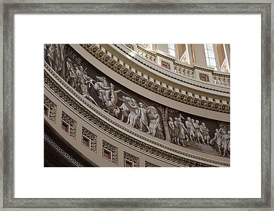 Washington Dc - Us Capitol - 011317 Framed Print