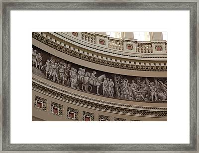 Washington Dc - Us Capitol - 011318 Framed Print by DC Photographer
