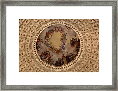 Washington Dc - Us Capitol - 011323 Framed Print