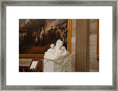 Washington Dc - Us Capitol - 011324 Framed Print