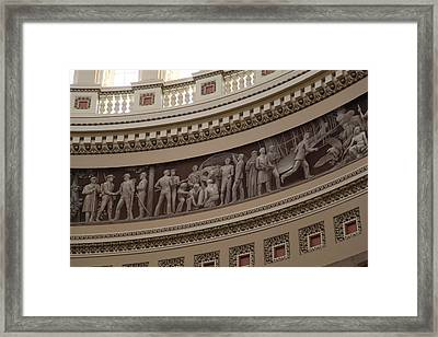 Washington Dc - Us Capitol - 011326 Framed Print