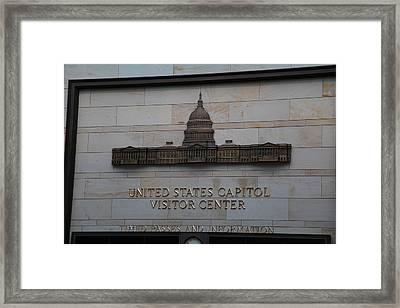 Washington Dc - Us Capitol - 01133 Framed Print by DC Photographer