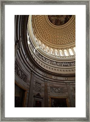 Washington Dc - Us Capitol - 01138 Framed Print by DC Photographer