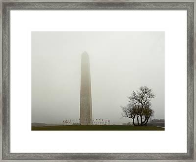 Washington Dc - Washington Monument - 01136 Framed Print