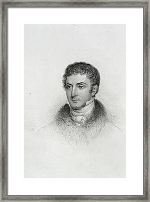 Washington Irving Framed Print