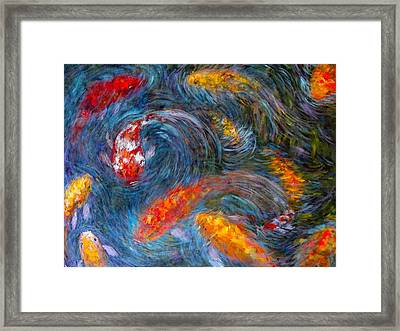 Washington Koi Framed Print by Charles Munn