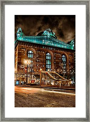 Washington Library 12-8-2013 Framed Print