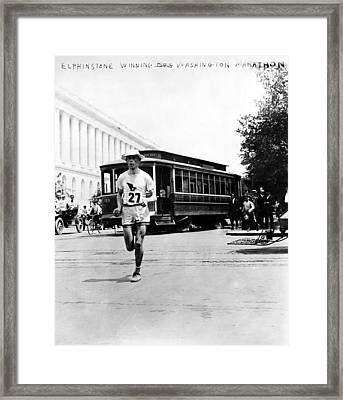 Washington Marathon, 1911 Framed Print by Granger
