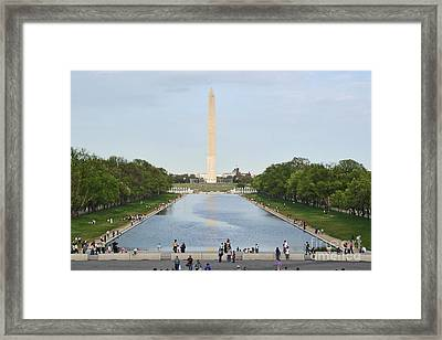 Washington Monument 1 Framed Print
