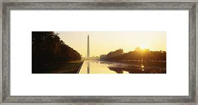 Washington Monument Washington Dc Framed Print