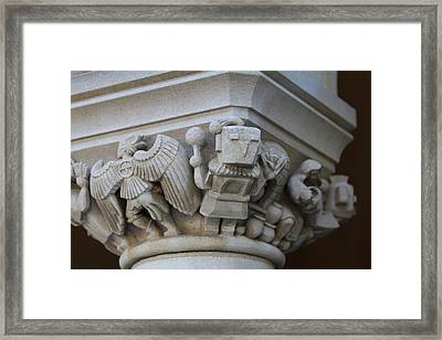 Washington National Cathedral - Washington Dc - 011310 Framed Print by DC Photographer