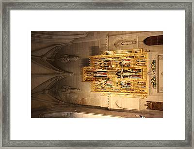 Washington National Cathedral - Washington Dc - 0113100 Framed Print
