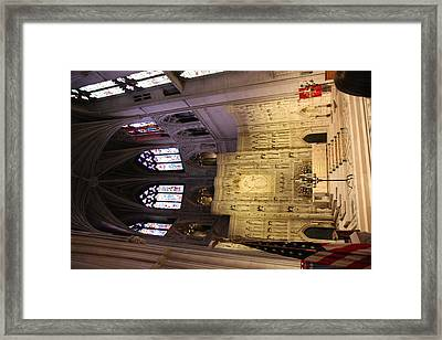 Washington National Cathedral - Washington Dc - 0113101 Framed Print by DC Photographer