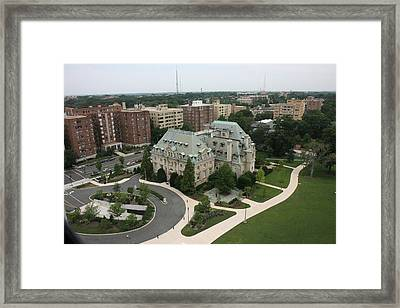 Washington National Cathedral - Washington Dc - 0113108 Framed Print