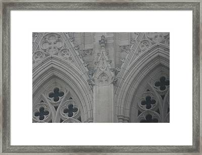 Washington National Cathedral - Washington Dc - 0113110 Framed Print