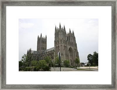 Washington National Cathedral - Washington Dc - 0113112 Framed Print