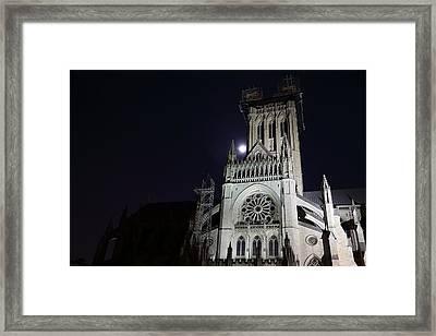 Washington National Cathedral - Washington Dc - 0113114 Framed Print