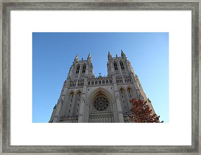 Washington National Cathedral - Washington Dc - 0113116 Framed Print by DC Photographer