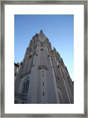 Washington National Cathedral - Washington Dc - 0113121 Framed Print by DC Photographer