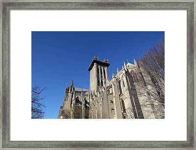 Washington National Cathedral - Washington Dc - 0113126 Framed Print by DC Photographer