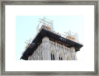 Washington National Cathedral - Washington Dc - 01132 Framed Print