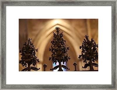 Washington National Cathedral - Washington Dc - 011331 Framed Print by DC Photographer