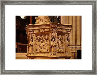 Washington National Cathedral - Washington Dc - 011333 Framed Print by DC Photographer