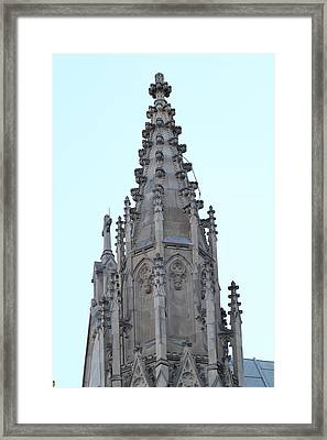 Washington National Cathedral - Washington Dc - 01135 Framed Print by DC Photographer