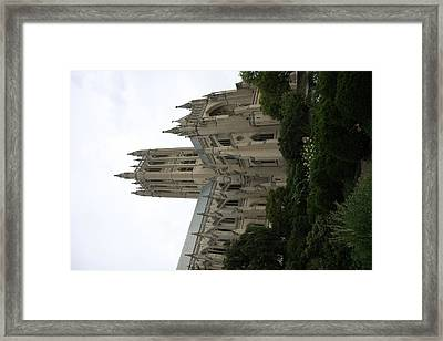 Washington National Cathedral - Washington Dc - 011350 Framed Print by DC Photographer
