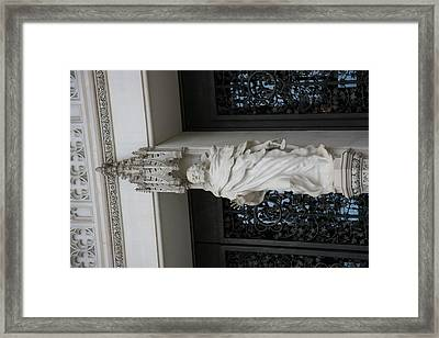 Washington National Cathedral - Washington Dc - 011353 Framed Print