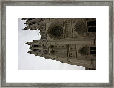 Washington National Cathedral - Washington Dc - 011354 Framed Print by DC Photographer