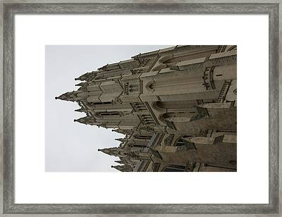Washington National Cathedral - Washington Dc - 011357 Framed Print