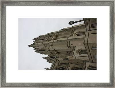 Washington National Cathedral - Washington Dc - 011367 Framed Print