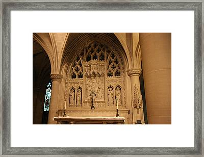 Washington National Cathedral - Washington Dc - 011373 Framed Print by DC Photographer