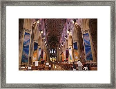 Washington National Cathedral - Washington Dc - 011376 Framed Print
