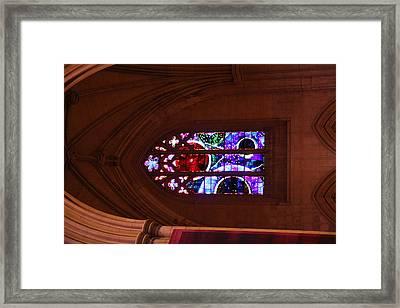 Washington National Cathedral - Washington Dc - 011380 Framed Print